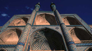 Vorderasien, Iran-Expeditionen - Moschee in Yazt